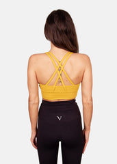 Ultra Lite Sports Bra Mustard