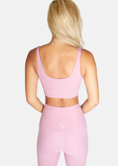 Ultra Free Sports Bra Flamingo Pink