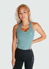 The Victory Tank Top Teal