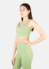 Ultra Free Sports Bra Matcha Green