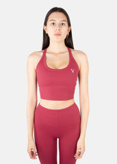 Ultra Feel Tank Top Red Wine