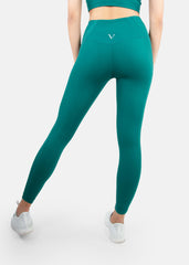 Ultra Feel Seamless Leggings Emerald Green