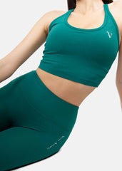 Ultra Feel Tank Top Emerald Green