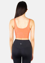 Vibe Higher Tank Top Coral