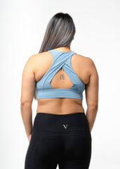 Hyper Support Sports Bra Blue