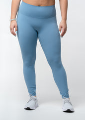 Hyper Flex Seamless Leggings Steel Blue