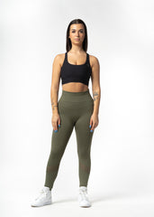 Allegro Seamless Leggings Army Green