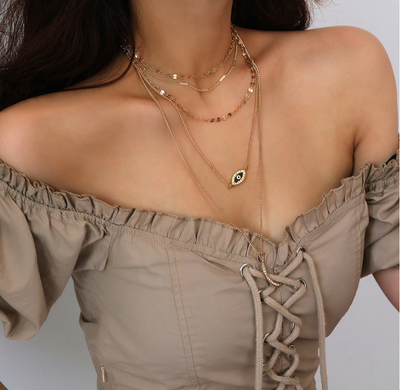 Rhea Gypsy Layered Necklace - VITAE APPAREL