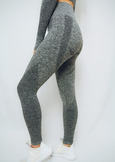 VITAE APPAREL Leggings Power Boost Leggings Dark Grey