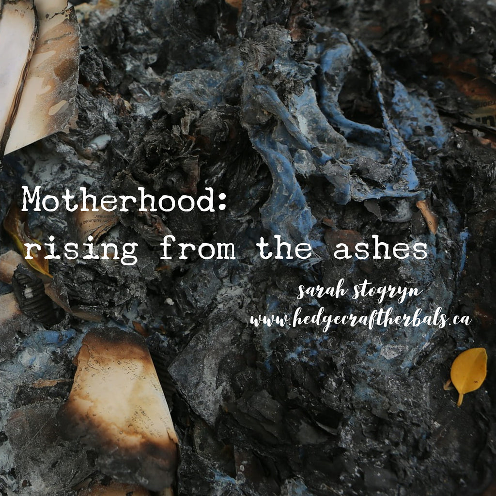 Motherhood: rising from the ashes