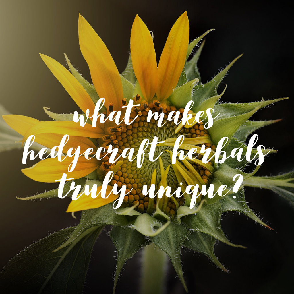 What makes Hedgecraft Herbals truly unique?