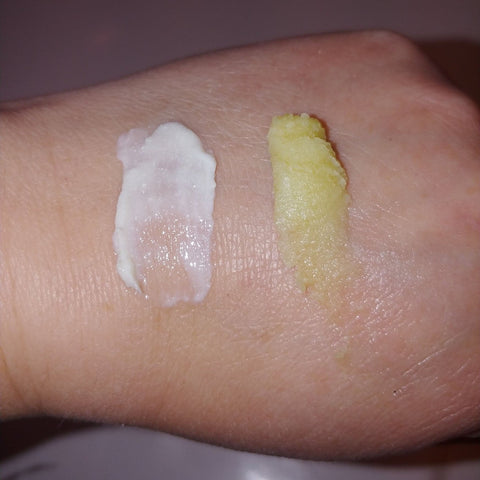 Skin Soothe vs Skin Seal on the back of hand
