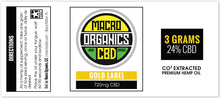 Macro Gold Concentrate 250mg - 750mg
