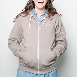 Jenny on the Back - Tandem Hoodie - SMALL ONLY