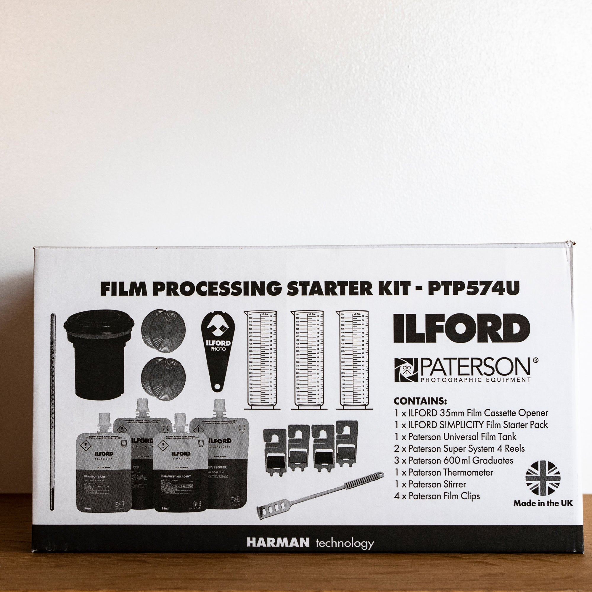 Ilford Film Processing Starter Kit