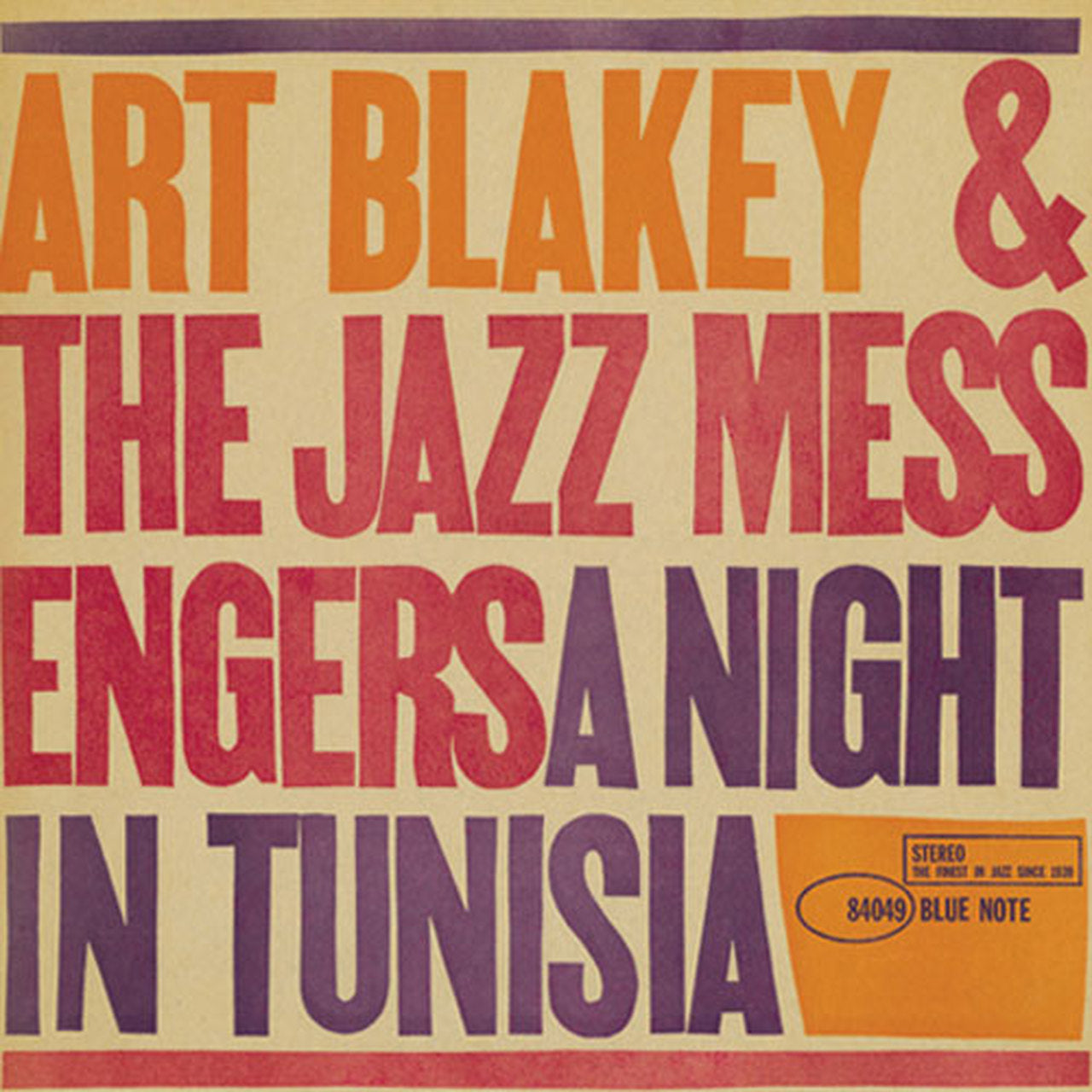 Art Blakey & The Jazz Messengers - A Night in Tunisia (180g vinyl)