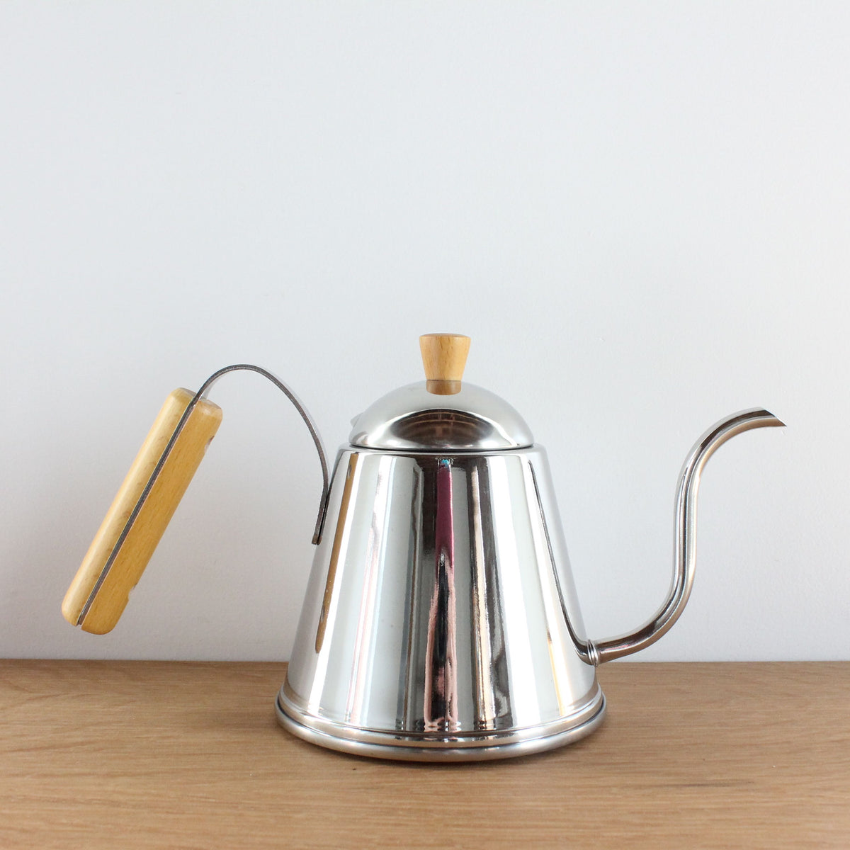 Wood-Handled Kettle