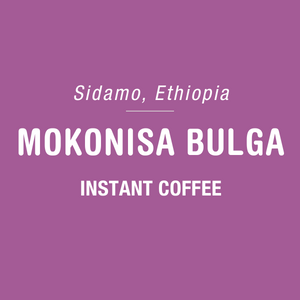 Mokonisa Bulga - Instant Coffee - 6 Pack