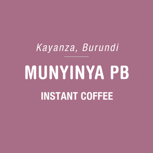 Munyinya PB  - Instant Coffee - 6 Pack
