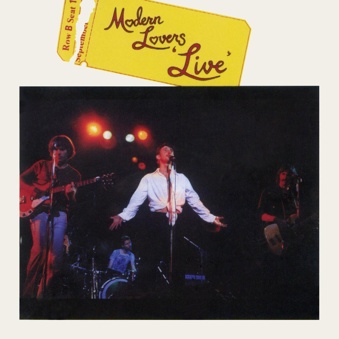 The Modern Lovers - Live (yellow vinyl)