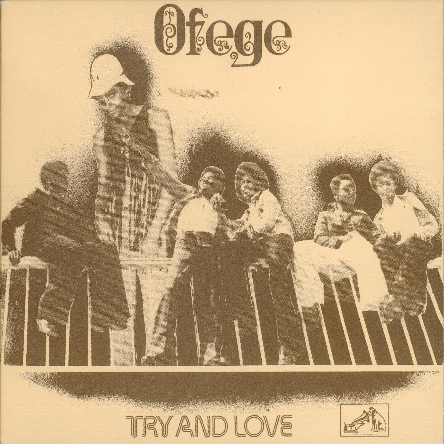 Ofege - Try and Love (brown vinyl - exclusive to Tandem)