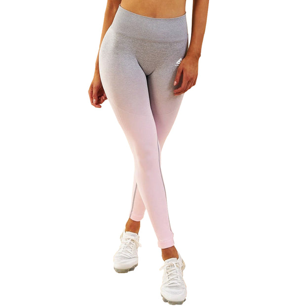 Womens Seamless Yoga Leggings Workout Tights Gradient Colour