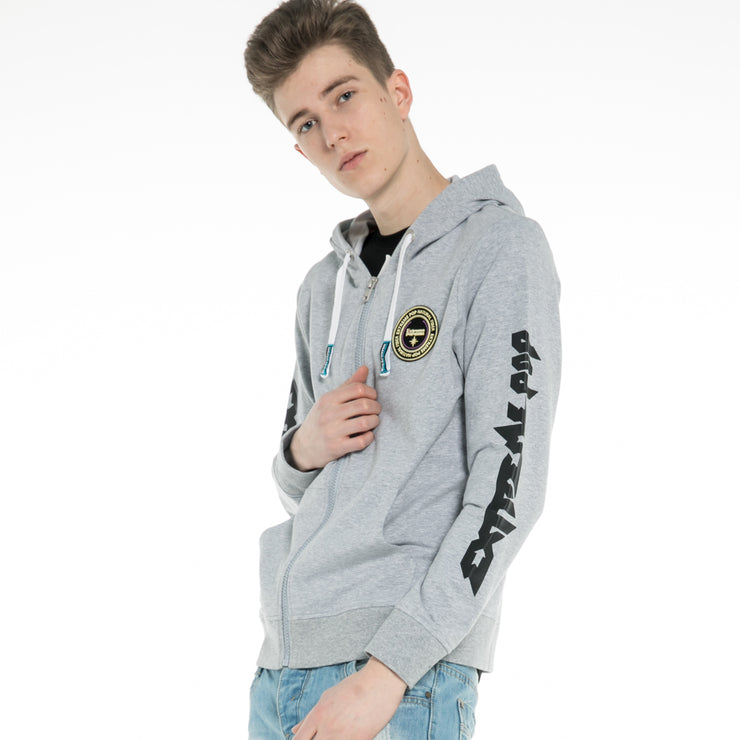 Extreme Pop Men's Zip Hoodie Sweatshirt