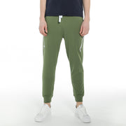 Men's Zipped Stretch Terry Joggers  S M L XL XXL Army green Navy
