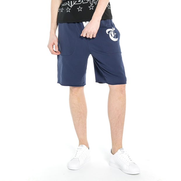 Mens Shorts  Cotton French Terry Summer Beach Shorts