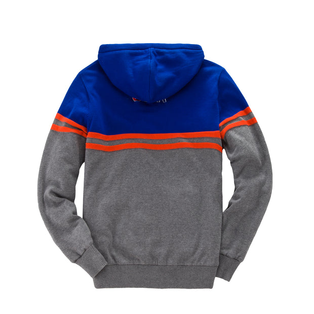 Knit Fleece Lining Hoodie Sweater