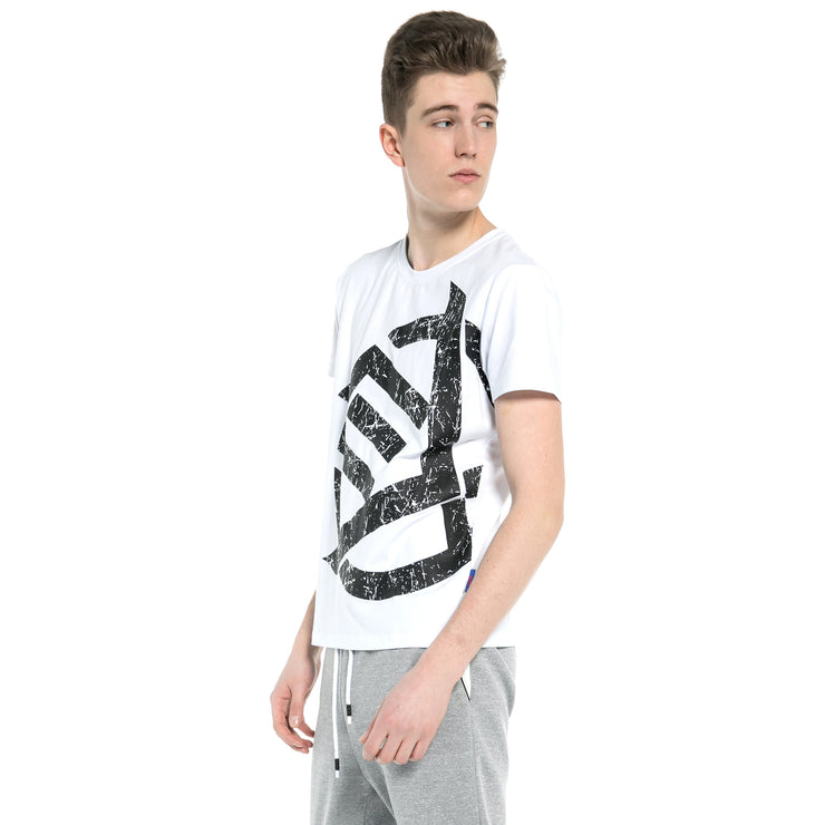 Crew neck cotton rich short sleeve t-shirt