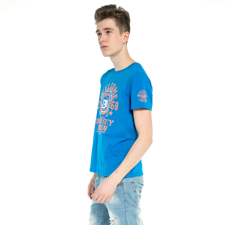 New Mens Cotton Print Tops T-shirt T shirt Tee Shirt UK Stock