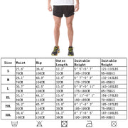 Mens Gym Shorts Quick-Dry Sports Shorts Double Layer Ultralight Athletic Running Briefs