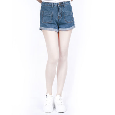 UK Womens High Waisted Shorts Jeans Summer Shorts Denim Jeans HotPants