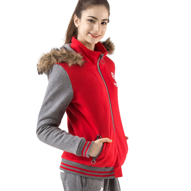 Storm Fur Zip-up Hoodie Jacket