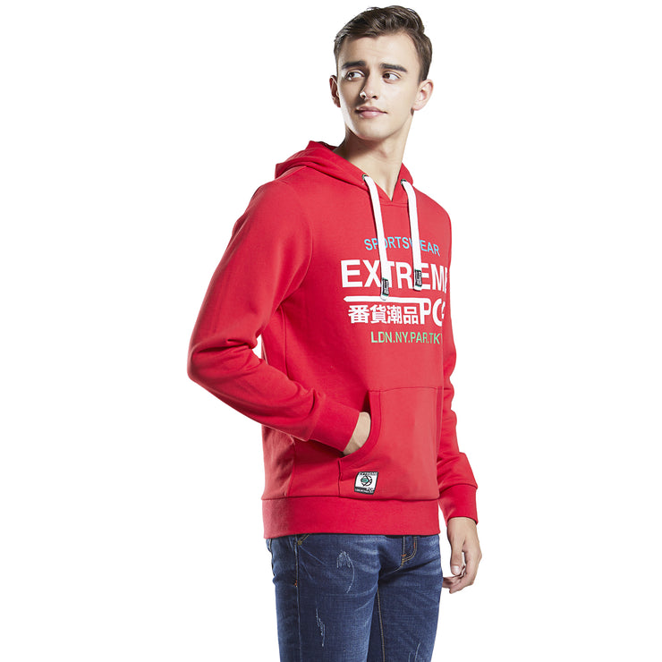 Extreme pop mens Hoodie Sweatshirt Garment Washed
