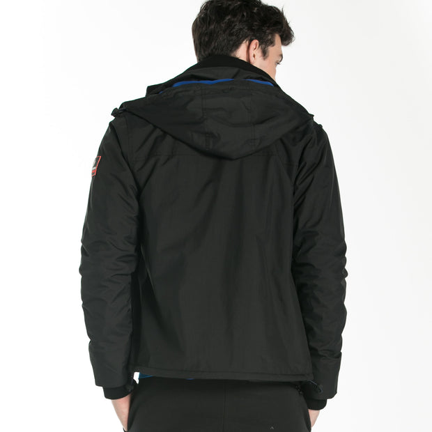 Double Placket Padded Jacket