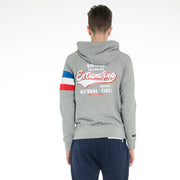 UK Men Contrast Colors Sleeve Hoodie Sweatshirt Zip-up Hooded Jacket Pullover RRP £40