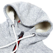 Slub Knit Bond Sherpa Zip-Up Jacket