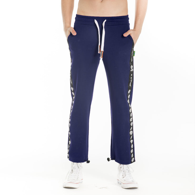 Ribbed Stripe Tracksuit Bottoms