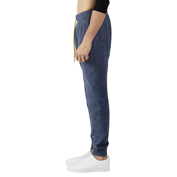 Marl Cotton Stretch Slim Fitted Joggers