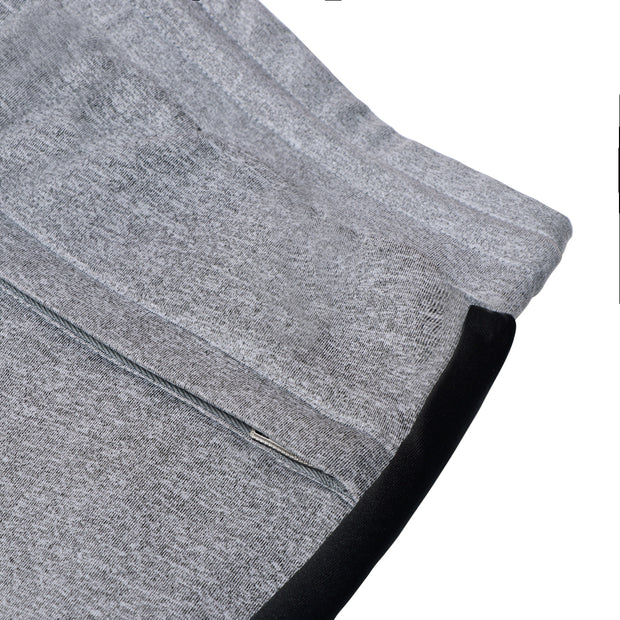 Reflective print color block panel Joggers