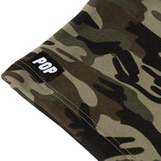 Camouflage Reflective Print Shorts