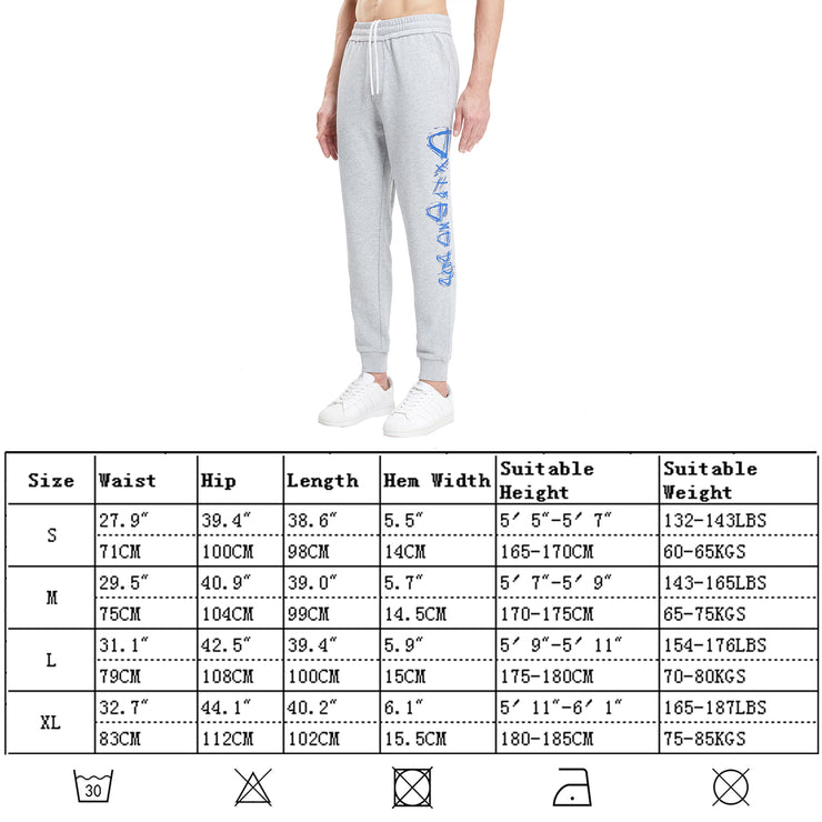 Extreme Pop Mens Tracksuit Jogging Bottoms Graphic Print Running Joggers with Pockets UK Brand