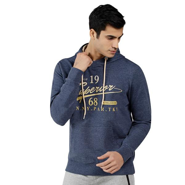 Men's Digital Print French Baby Terry Hoodie Sweatshirts