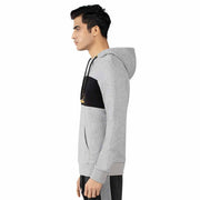 Men's Sports Sweatshirts Athleisure Hoodie size S M L XL White Grey