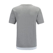 grey T-shirt back side