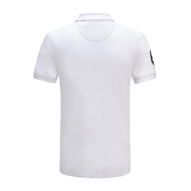 Mens Polo Shirt Top Short Sleeve Pure Cotton Pique Various colours