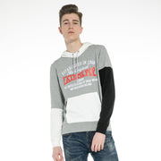 Mens contrast colors Hoodie Sweatshirt Jumper
