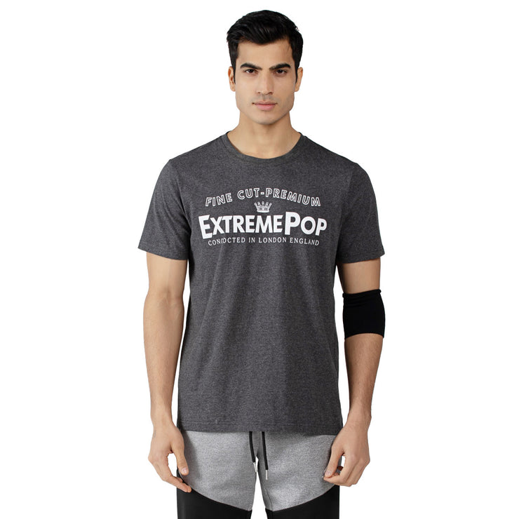 Men's Digital Print Athleisure T-Shirts